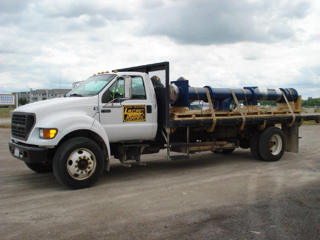 Lakecraft Corporation - Pumps, Pump delivery