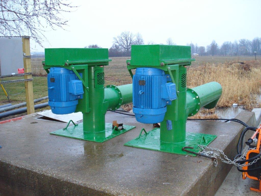 Lakecraft Corporation - Pumps Vertical Propeller Pump Marsh Pumps