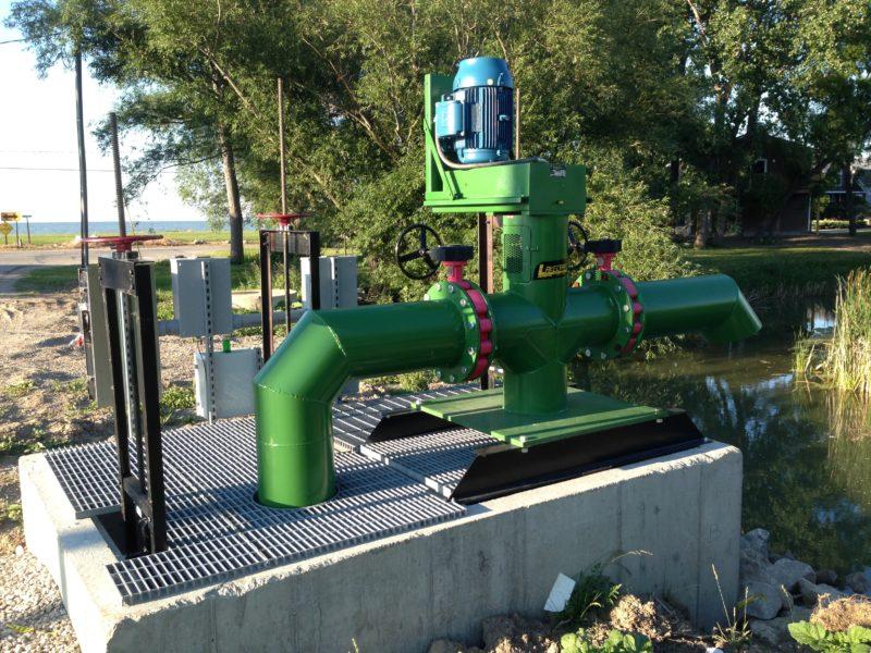 Vertical Propeller Pumps - Lakecraft Corporation | Port Clinton, Ohio